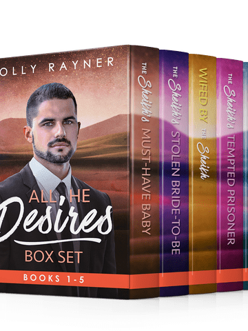 All He Desires Box Set: Books 1 – 5