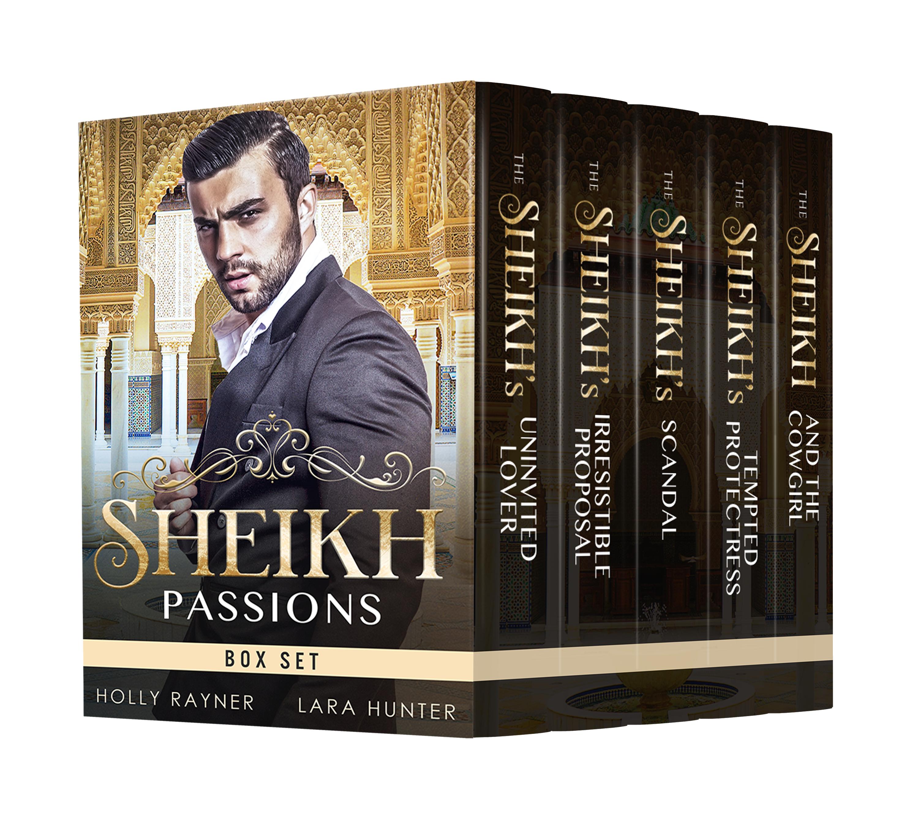 Sheikh Passions: 5 Book Box Set
