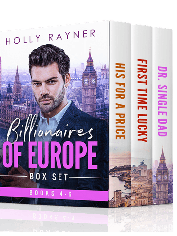 Billionaires of Europe Boxed Set: Books 4 – 6